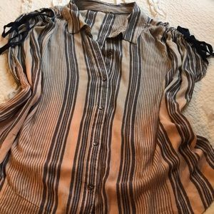 Free People Button-down Top
